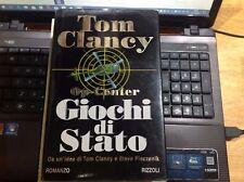 GIOCHI DI STATO Op-Center Spionaggio Thriller Clancy 1°ediz. RIZZOLI 1998