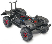 Traxxas TRX4 Chassis 2-Gang Sperrdiffs + 3 Servos oh. Elektr.Reif. kein Bausatz