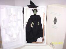 Wizard of Oz Mattel Porcelain WICKED WITCH DOLL Timeless Treasure W/ BOX - MINT