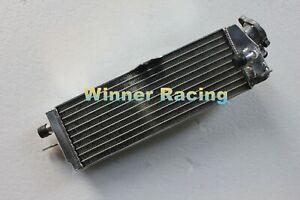 Fit Suzuki RM80 RM 80 1986-2001 1992 93 94 95 96 Full aluminum radiator Braced