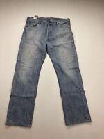 LEVI'S 501 Jeans - W36 L32 - Blue - Good Condition - Men's
