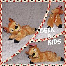 Peluche Bambi à poils long couché - Disney - 30cm - Ref C4