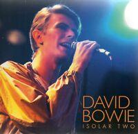 DAVID BOWIE - ISOLAR TWO (LIVE LONDON 1978 + BONUS) - 2CD GATEFOLD SLEEVE
