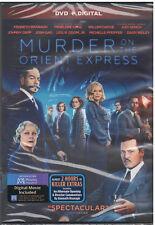 MURDER ON THE ORIENT EXPRESS (DVD, 2018, Johnny Depp) NEW