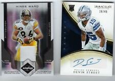 2007 LEAF LIMITED JERSEY #2/25 HINES WARD PRIME PATCH STEELERS BULLDOGS