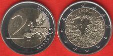 "Finland 2 euro 2008 ""Human Rights"" BiMetallic UNC"