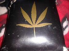 AWESOME Marijuana Weed GOLD Leaf 2 Sticker LOT Cannabis Medical Legalize
