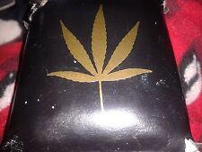 AWESOME Marijuana Weed GOLD Leaf 2 Sticker LOT Cannabis Medical Legalize
