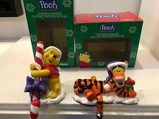 Noma Winnie The Pooh & Tigger Christmas Stocking Hangers