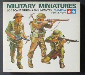 Tamiya 1/35th Scale British Army Infantry Figure Set No. 35007