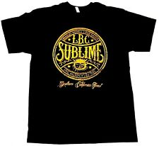 SUBLIME T-shirt LBC Ska Punk Long Beach Cali Tee Adult Men  Black New