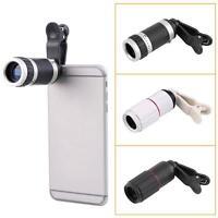 Universal 8-18x Zoom Optical Mobile Phone Telescope Telephoto Camera Len+Clip MT