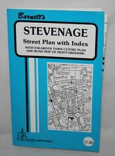 G.I. Barnett's Street Plan with Index - Stevenage - c1990