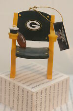 GREEN BAY PACKER STADIUM SEAT ORNAMENT~NEW WITH TAGS~FREE SHIPPING IN THE US~