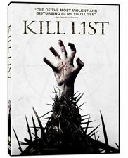 Kill List / La Liste Noire Bilingual On DVD Very Good E74