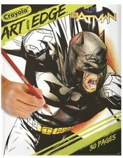 Crayola Art With Edge Batman 30 Page Premium Coloring Book