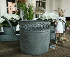 Gießkanne Zink Kanne Metall Antik Shabby Vintage Garten Landhaus Nostalgie 2