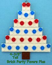 LEGO Custom Christmas Ornament - White Christmas Tree Hand Made NEW Free Ship