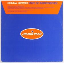 DONNA SUMMER, STATE OF INDEPENDENCE   Vinyl Record *USED*