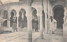 MARSEILLE expo coloniale 1906 20 cour intérieure du palais de l'algérie timbrée