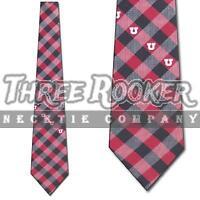 Utah Utes Tie Utes Neckties Mens Licensed Football Neck Ties NWT