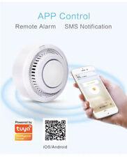 Wifi Smoke Alarm Detector Battery Powered Smartphone App Control