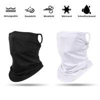 Schlauchschal Mund-Nasen-Maske Multifunktionstuch Behelfs Maske Biker Mundschutz