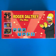 Neca The Simpsons 25 Greatest Guest Stars The Who Roger Daltrey SET OF 8
