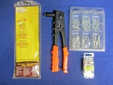 "ARROW ""E-Z PULL"" RH200 PROFESSIONAL RIVET TOOL + RIVETS & ORIGINAL PACKAGING"