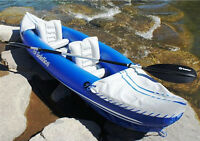 Solstice 29900 Whitewater Rapids Rogue 2-Person Convertible Inflatable Kayak