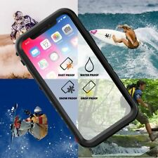 iPhone X XS Max XR 7/8 Plus ShockProof Dirt Dust Proof WaterProof Life Case Cove