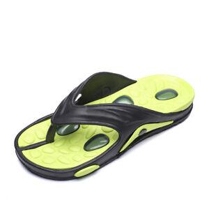 Summer Mens Beach Slingbacks Thong Slippers Shoes Clip Toe Outdoor Walking New