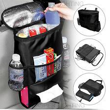 Asiento trasero coche bolsa de almacenamiento de varios bolsillos ordenado organizador titular de viaje fresco caliente NUEVO