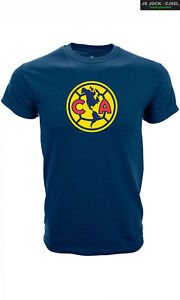 CLUB AMERICA YOUTH T-SHIRT TEAM CREST LOGO SIZES SMALL-XL OFFICIALLY LICENSED