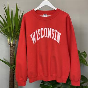 Vintage 90's USA College Sweatshirt Men's Large