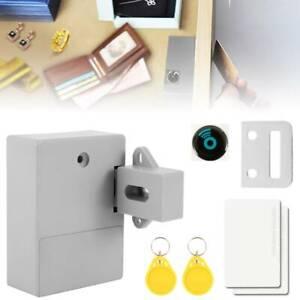 Door Lock Front Set Smart Hidden Battery RFID Cabinet Drawer Bedroom Bathroom UK