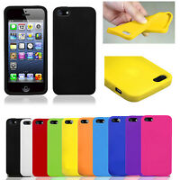 Soft Protector Rubber Silicone Case Cover For iPhone 4 iPhone 5/5s iPhone 6 Plus