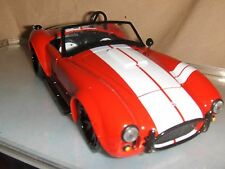Toy Jada 1965 Shelby Cobra 427 S/C Hot Red 1:24 Diecast Car