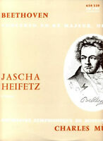 Beethoven: Violin Concerto Jascha Heifetz   Boston S.O.  Charles Munch