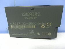 Siemens 6es7 132-4bb30-0ab0 SIMATIC DP, 5 electrónica módulos para et 200s