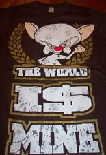 WB PINKY AND THE BRAIN T-Shirt SMALL NEW
