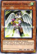 Yu-Gi-Oh 3x Dracheneinheit Tribus - - - SDDL