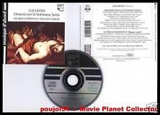 """ROSSI """"Oratorio Settimana Santa"""" (CD) A.Florissants1994"""