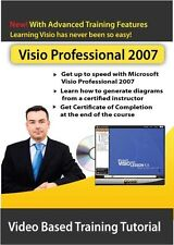 Learn Microsoft Visio Professional 2007 Video Training-Certified Instructor