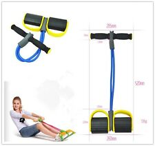 Yellow Body Trimmer Gut Buster Pull-up Exerciser Slimming Body Spring Exerciser