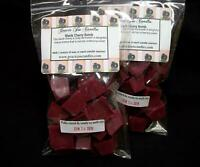 BLACK CHERRY BOMB Scented Tart Wax Melts Chunks Chips Home Candle Warmer Scents