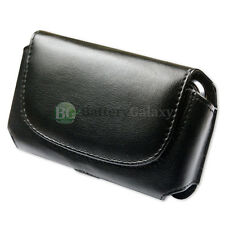 NEW Genuine Leather Pouch Belt Cell Phone Case for Android LG Exalt II / Wine IV