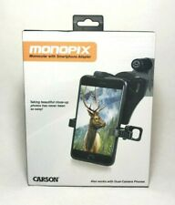 Carson | MonoPix | Monocular and Smartphone Adapter | MP-842IS | 8 x 42 mm