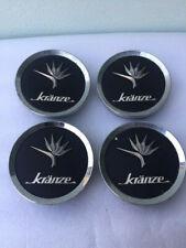 **Genuine** Used Weds Kranze Black Center Caps Set of 4
