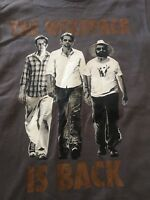 The Hangover Part 2 Movie Promo The Wolf Pack Is Back T-Shirt Size S Char GRAY